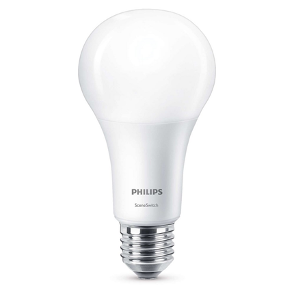 Philips LED Lamp E27 14W Scene Switch