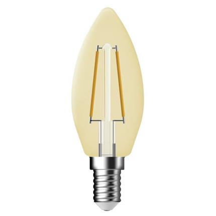 GP Filament-LED Lamp Vintage Gold Kaars 1,2W E14