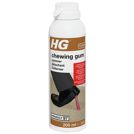 HG Chewing gum kauwgom remover