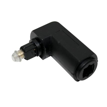 Toslink Adapter (F)-(M) haaks