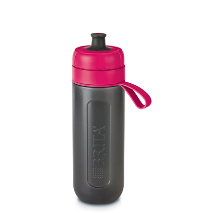 Brita Fill&Go Active Waterfilterfles Roze