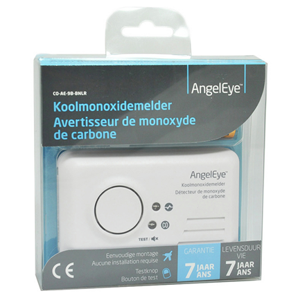 AngelEye Koolmonoxidemelder CO-AE-9B-BNLR