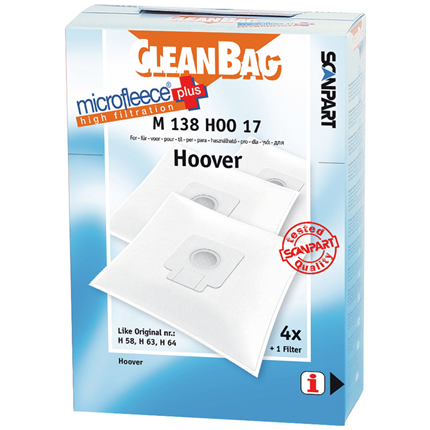 CleanBag Microfleece+ M138HOO17