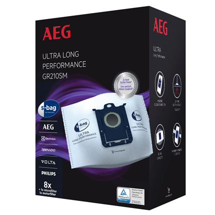 AEG stofzuigerzak S-bag Ultra Long Performance megap. GR210SM