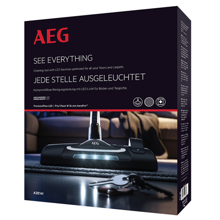 AEG combimond met LEDverlichting Advanced Precision Ø36mm ovaal AZE141