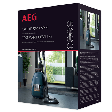 AEG stofzuigerzak S-bag Long Performance kit ASKVX9