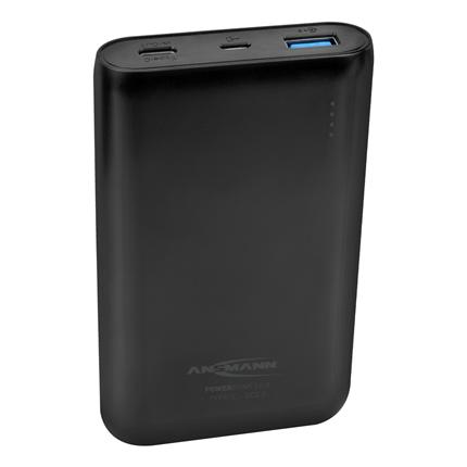 Ansmann Powerbank 10.8 10.000mAh 2-poorts met USB-C en quick-charge