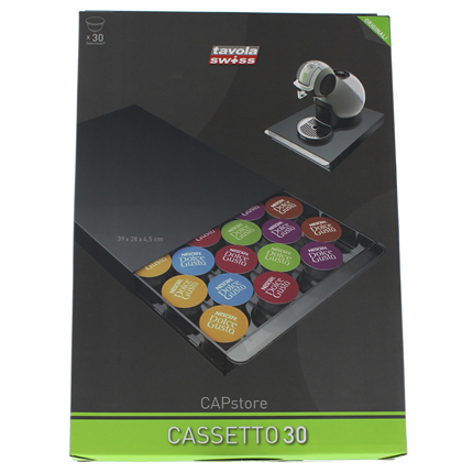 Tavola Swiss Casetto Capsule houder Dolce Gusto A30