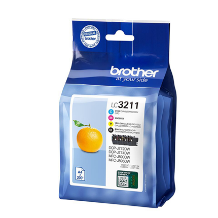 Brother cartridge LC3211 multipack