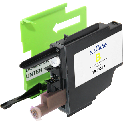 weCare Cartridge Brother LC1240 Geel