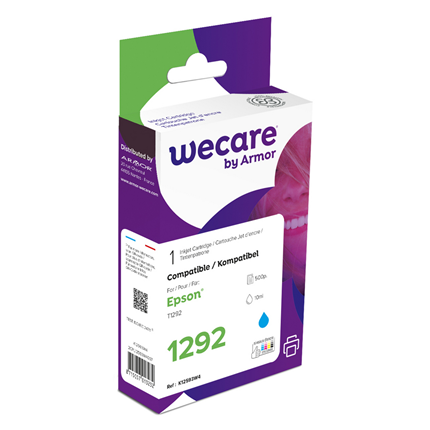 weCare Cartridge Epson T129240 Blauw