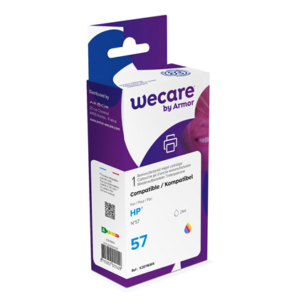 weCare Cartridge compatible met HP 57 Tricolor