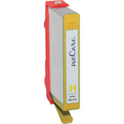 weCare Cartridge compatible met HP 364 XL Geel