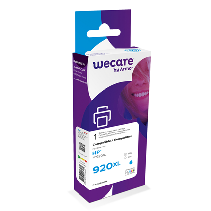 weCare Cartridge HP 920XL Blauw