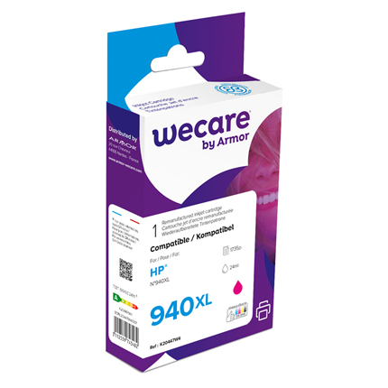 weCare Cartridge HP 940XL Rood