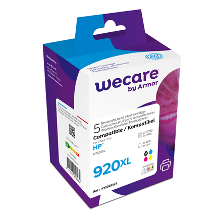 weCare Cartridge compatible met HP 920 XL Combipack