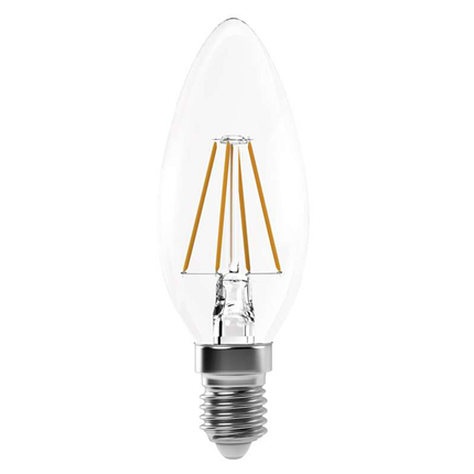 Emos LED lamp E14 4W 465Lm kaars filament