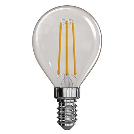 Emos LED lamp E14 4W 465Lm mini-kogel filament