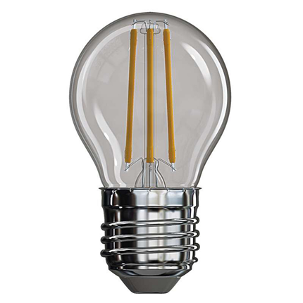 Emos LED lamp E27 4W 465Lm mini-kogel filament