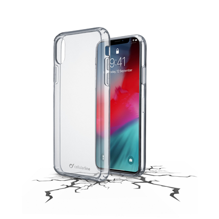 Cellular Line Backcover iPhone XR transparant
