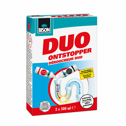 Bison Duo Ontstopper 2x 500 ml