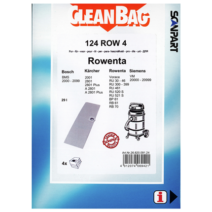 CleanBag 124 ROW 4
