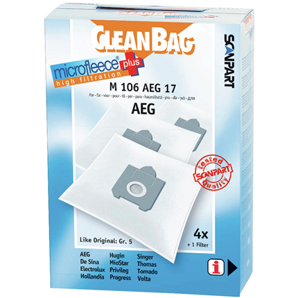 CleanBag Microfleece+ M106AEG17