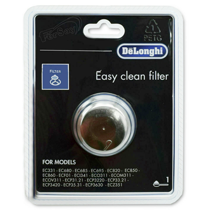 DeLonghi 1-Kops Easy Clean Filter DLSC401