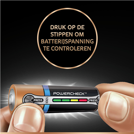 Duracell 9V Ultra Power Alkaline Batterij