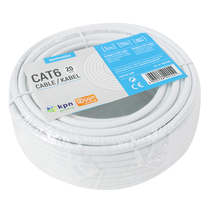 Technetix UTP Netwerkkabel CAT6 20m