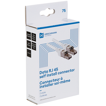 Hirschmann self install CAT6A RJ45 connector 2 stuks