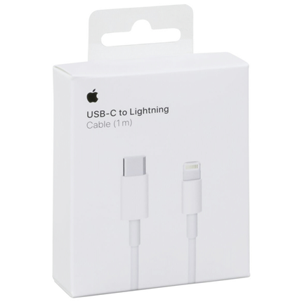Apple adapterkabel USB-C(M)-lightning(M) 1,0m MQGJ2