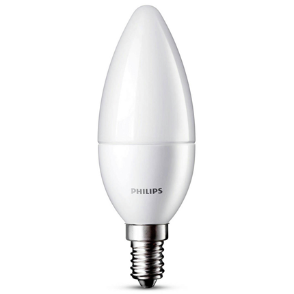 Philips LED lamp E14 Kaars mat 5,5W 470Lm