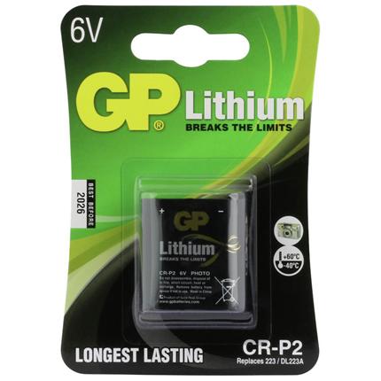 GP CR-P2 Foto Lithium Batterij