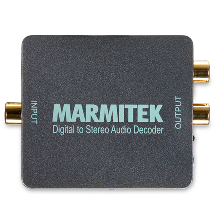 Marmitek Connect DA51 Converter Digitale Audio Naar Analoge Audio