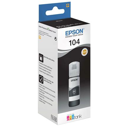Epson Cartridge 104 Zwart