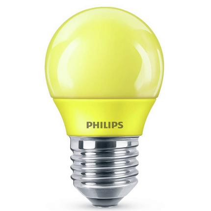 Philips LED Lamp E27 3,1W Geel