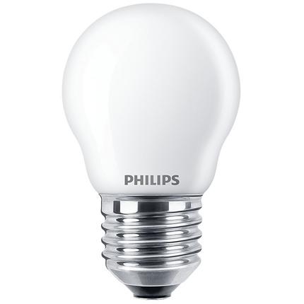 Philips LED Lamp E27 6,5W Kogel