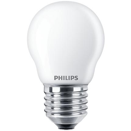 Philips LED Lamp E27 2,2W Kogel
