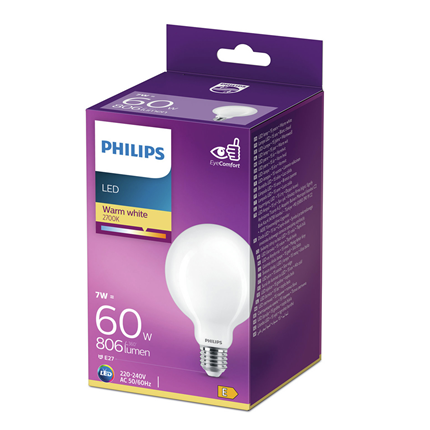 Philips LED Lamp E27 7W