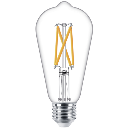 Philips LED Lamp E27 7W Dimbaar
