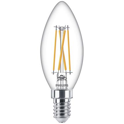 Philips LED Lamp E14 3,2W Kaars Dimbaar
