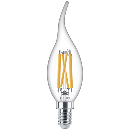 Philips LED Lamp E14 4,5W Kaars Dimbaar