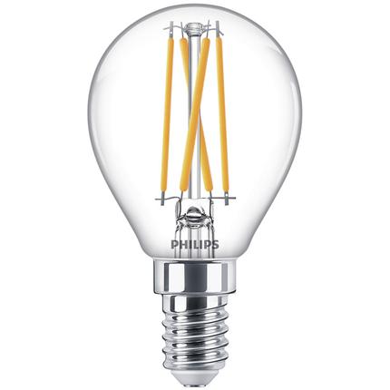 Philips LED Lamp E14 3,2W Kogel Dimbaar