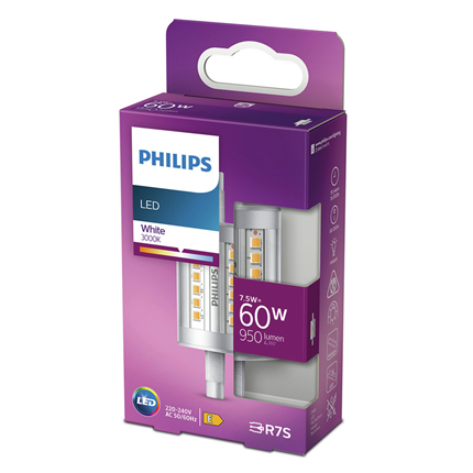 Philips LED Lamp R7s 4W Staaf