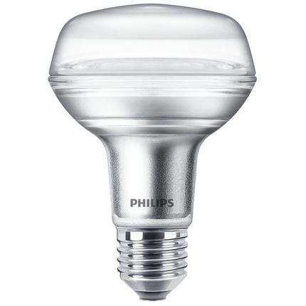 Philips R80 LED Lamp E27 4W Reflector