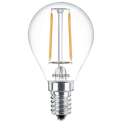 Philips LED Lamp E14 2W Kogel