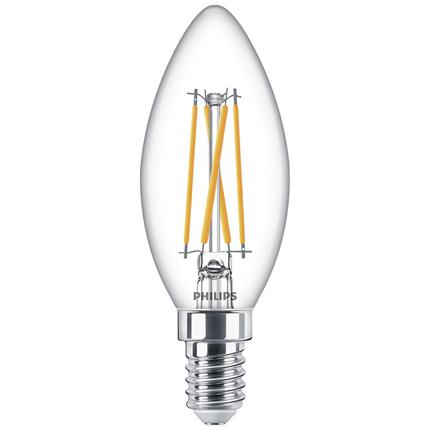 Philips LED Lamp E14 4,5W Kaars dimbaar