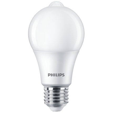 Philips LED Lamp E27 8W sensor