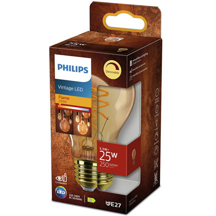 Philips LED Lamp E27 5,5W